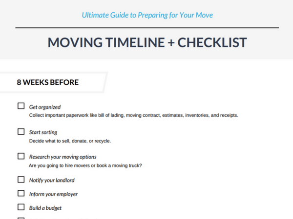 download the printable ultimate guide to preparing for your move