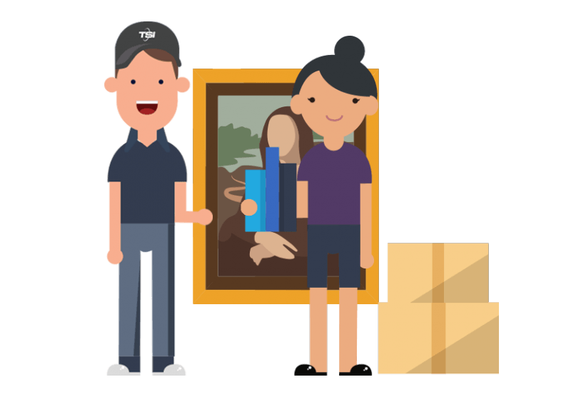 White Glove and furniture shipping